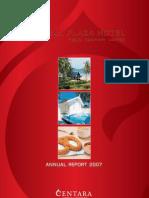 Central Plaza Hotel_Annual Report 2007