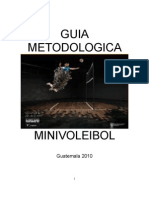 Guía Metodológica Voleibol