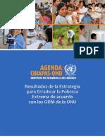 Resultados de la estrategia para erradicar la pobreza en Chiapas