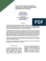 Un modelo en dinámica de sistemas para observar el comportamiento en las pirámides financieras