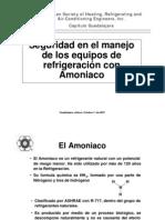 Seminario Seguridad Refrigeracion Amoniaco