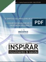 Revista Cientifica Inspirar Edicao 4 Supl Unochapeco 2010