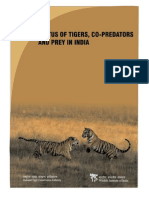 Status of Tigers in India 2008