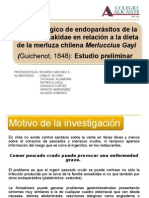 CICLO BIOLOGICO DE ENDOPARÁSITOS DE LA MERLUZA