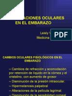 Manifestaciones Oculares Del Embarazo - Int. Leisly Vidal