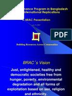 BRAC Microfinance Program in Bangladesh and Its International Replications