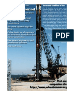 Underwater Geotechnical Foundations