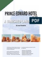 Prince Edward Hotel at 100