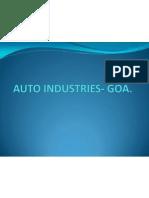 Auto Industries- Goa