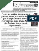 BOLETÍN PSOE CARTAYA JULIO 2012