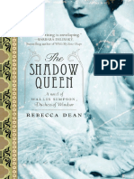 The Shadow Queen by Rebecca Dean - Excerpt