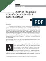 Teoria Queer e Sociologia