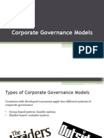 Corporate Governance Models