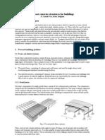 Precast Concrete Structures for Buildings