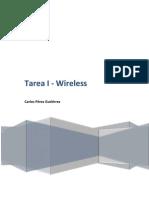 Tarea I - Wireless
