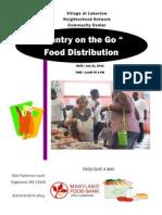 Food Give Away 7212012