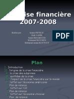 La Crise Financière 2007_2008. Redac Finale