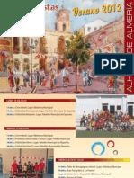 Programa de Fiestas Alhama de Almería 2012