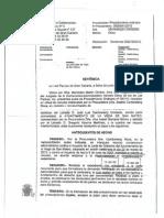 SENTENCIA HOYA VICIOSA- VEGA DE.SAN MATEO