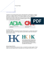 How to Design a Logo of Letters