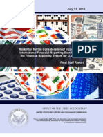 Ifrs Work Plan Final Report