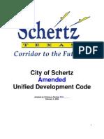 Final Revised UDC Draft 1-14-09