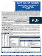 Bluefield Blue Jays Game Notes 7-13