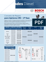 Bosch Novidade Conceito de Reparo Cri 2 Fase
