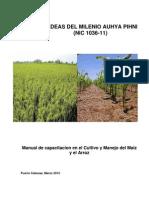 Cultivo y Manejo Comunitario Del Maiz y Arroz