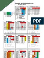Kalender Pendidikan 2012_2013 Sman 8 Bks