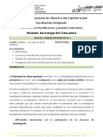 Guia Del Primer Encuentro Investigacion Educativa.8.07.2012 1