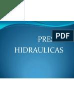 PRESAS HIDRAU