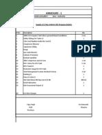 Annexure of LPG