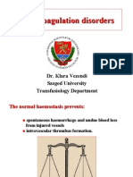Blood Coagulation Disorders