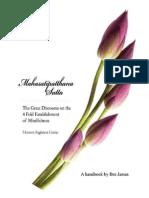 Satipatthana Handbook Bro James Ong eBOOKpdf