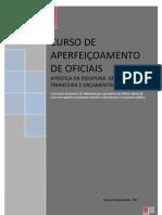Apostila de Gestão Financeira e Orçamentária para o Curso de Aperfeiçoamento de Oficiais da PMERJ