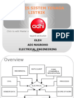 Analisis Sistem Tenaga Listrik Introduction