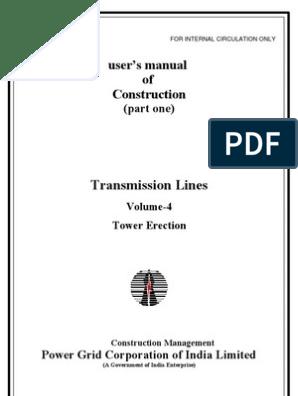 TL _ Vol  IV - Tower Erection | Nut (Hardware) | Screw
