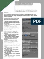 Introduction to Blender 3D - Part IV