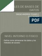 Niveles de Bases de Datos