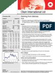 Olam Brokers' Report