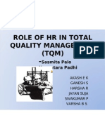 Role of Hr in Total Quality Management (2)