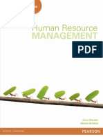SAMPLE Human Resource Management