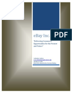 eBay Case Analysis