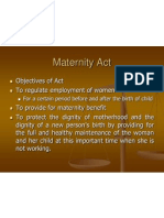 Maternity Act