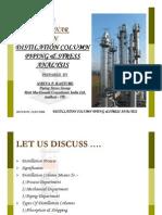 Distillation Column Piping