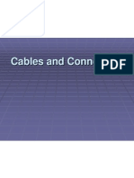 Cables Connectors