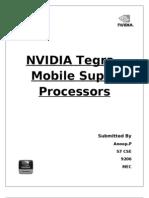 NVIDIA Tegra 3 - The Super Mobile Processor