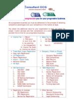 Registration & Taxation Consultant @ +919990497913