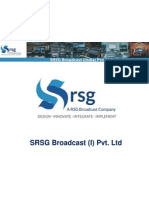 SRSG Broadcast Corporate Profile